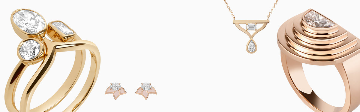 Diamond Foundry and AU Showroom Exclusive Bridal Capsule Collection