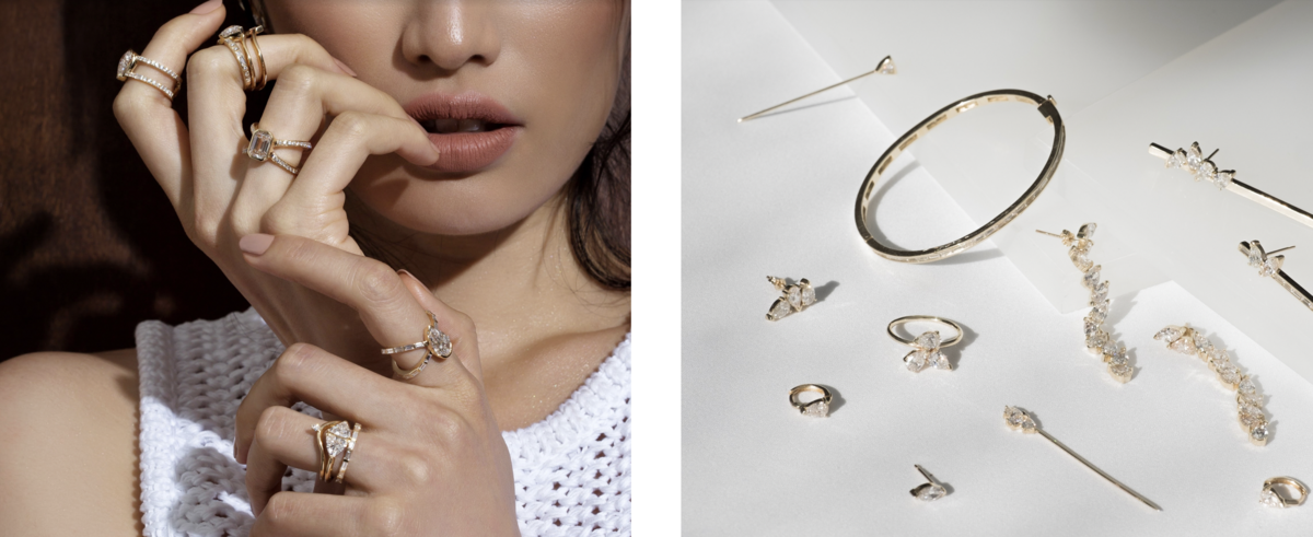 JCK: Diamond Foundry Partners With Designers Grace Lee and Shahla Karimi
