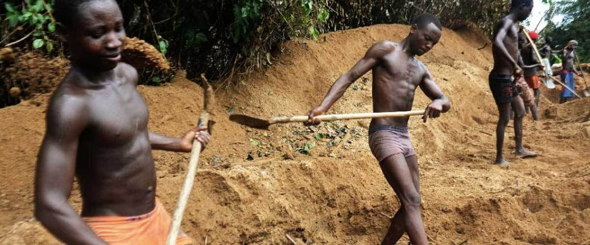 "Africa's ""Conflict Free Diamonds"": Mined  in Blood and Sweat"