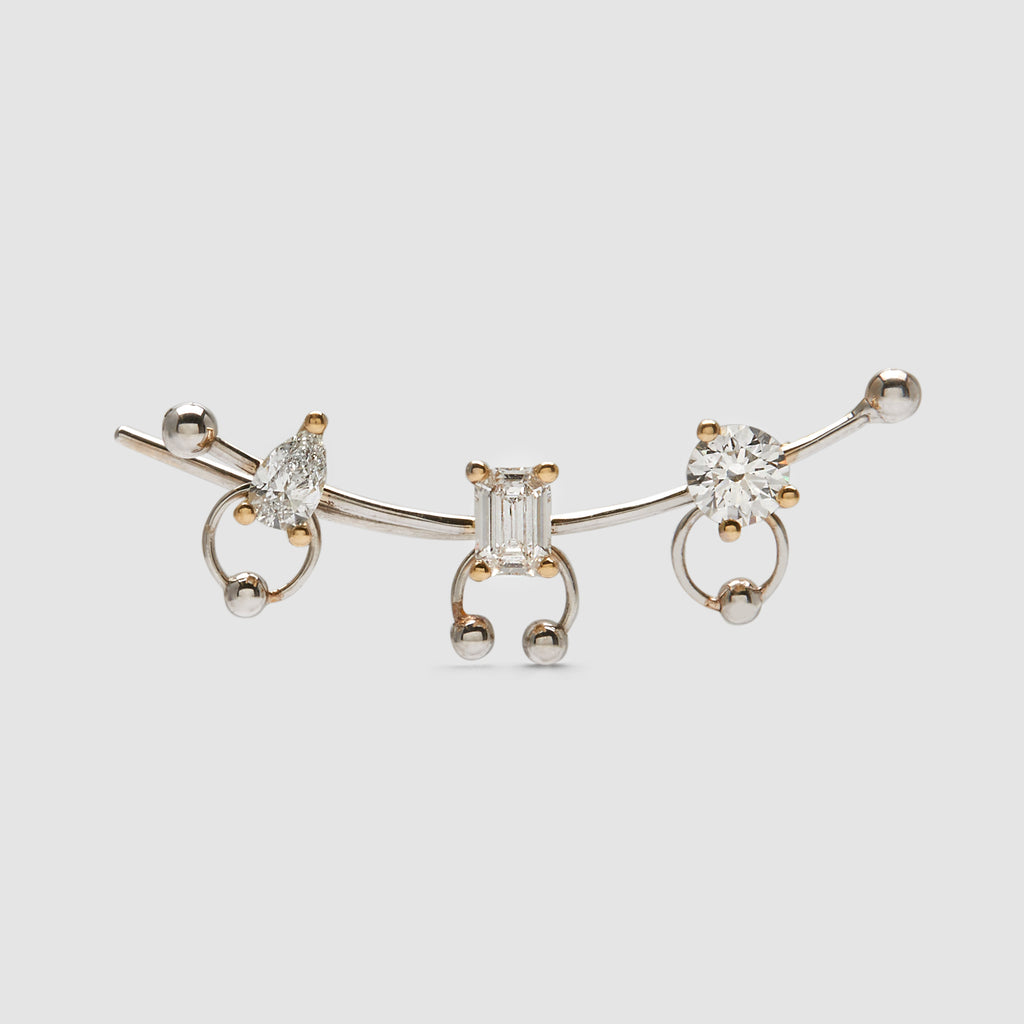 DELFINA DELETTREZ <br>EARRING SINGLE
