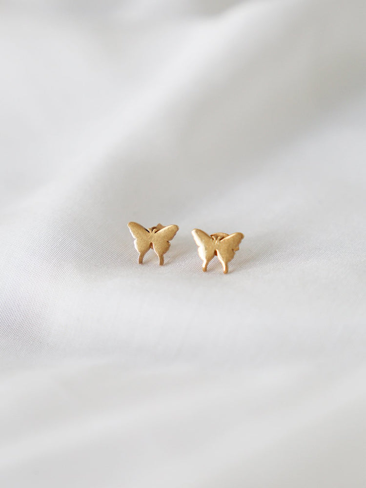 Baby Butterfly Studs - Gold | Silver