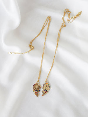 BFF Friendship Necklace Set - Pre-Order - necklace - monday merchant