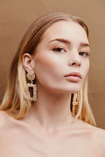 Charlie Drop Earrings - Gold | Silver - earrings - monday merchant