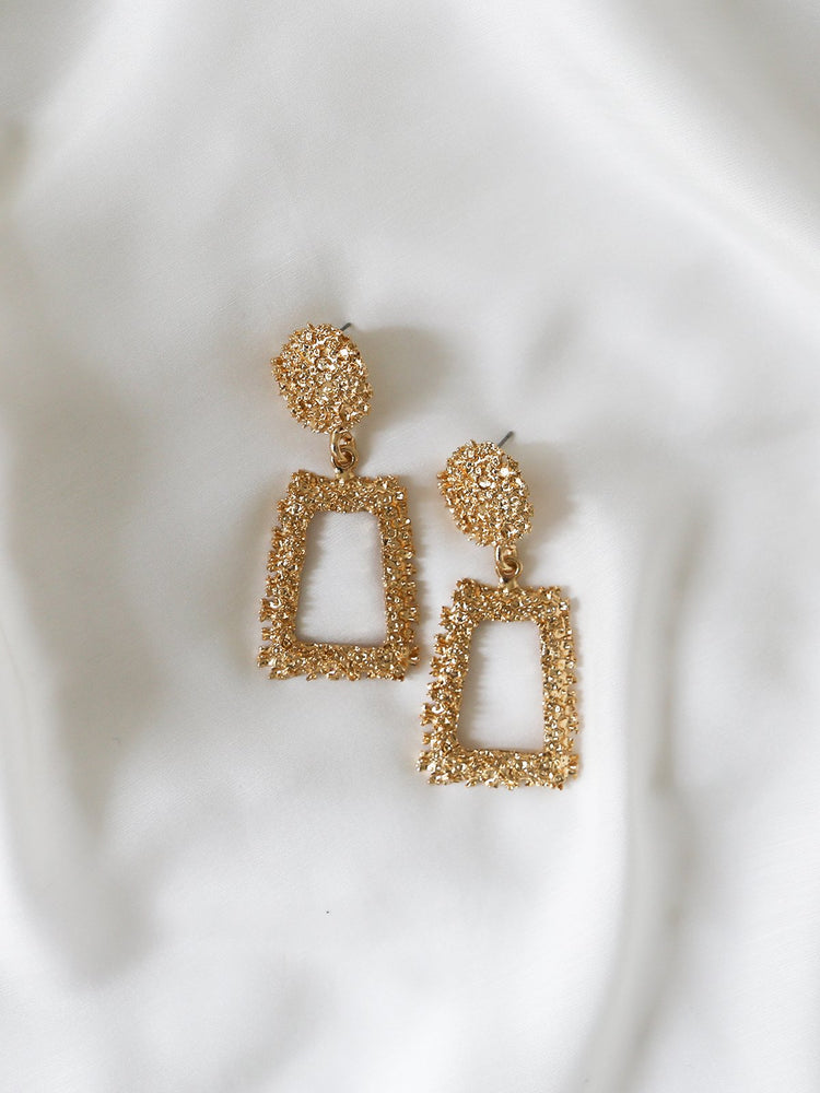 Charlie Drop Earrings - Gold | Silver - monday-merchant