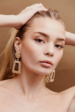 Charlie Drop Earrings - Gold | Silver