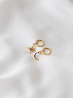 Constellation Charm Hoops (Pre-Order) - earrings - monday merchant