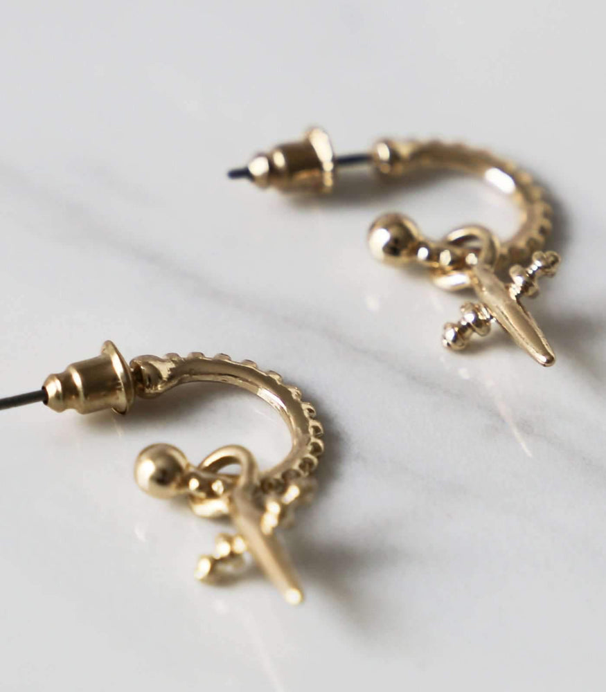 El Nino Stud - Gold - earrings - monday merchant