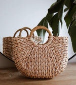 Elliot - Semi Circle Tote