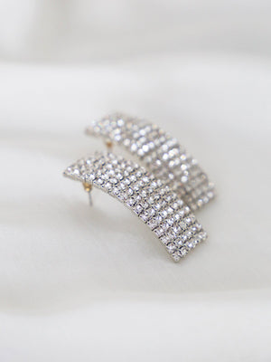 Euphoria Earrings - Diamante - earrings - monday merchant