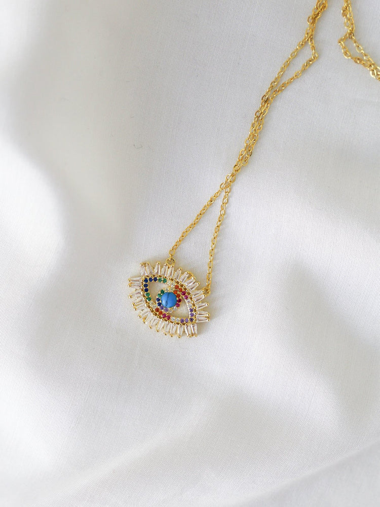 Evil Eye Necklace - necklace - monday merchant