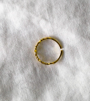 Little Wire Ring - Gold - Rings - monday merchant