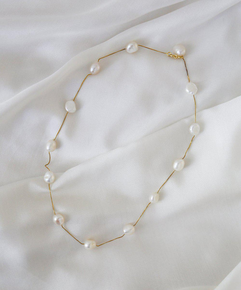 Nelly Pearl Necklace - monday-merchant