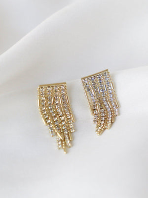 Reeve - Drop Earrings - Gold - earrings - monday merchant