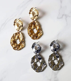 Rein Earring - Gold / Silver - earrings - monday merchant
