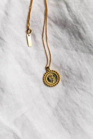 Rosa Necklace - Gold Pre-Order - necklace - monday merchant
