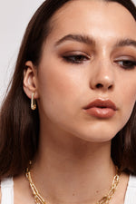 Safety Stud - Gold | Silver (Pre-Order) - earrings - monday merchant