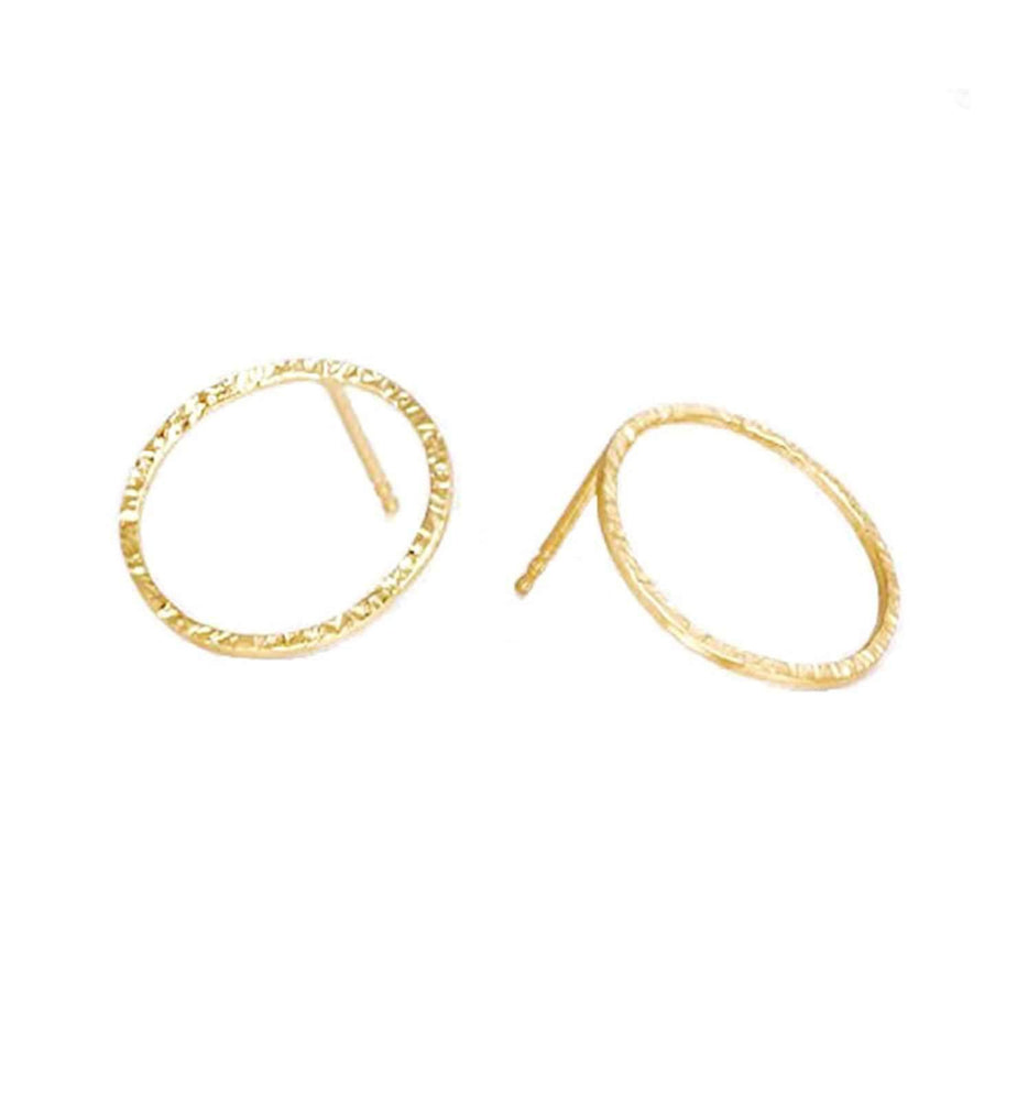 Simple Stud - Gold - earrings - monday merchant