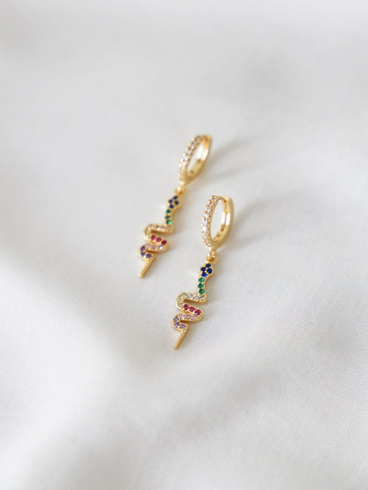 Snake Charmers (Pre-Order) - earrings - monday merchant