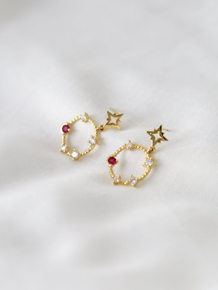 Starry Night Drop Earrings - Gold Pre-Order - earrings - monday merchant