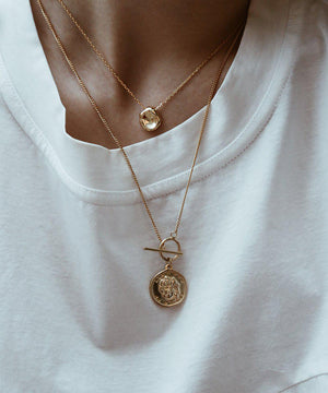 Theodora Necklace - Gold - necklace - monday merchant