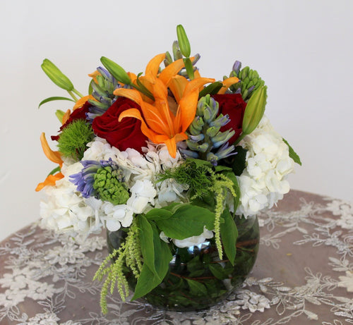 Bowl Mixed Bouquet
