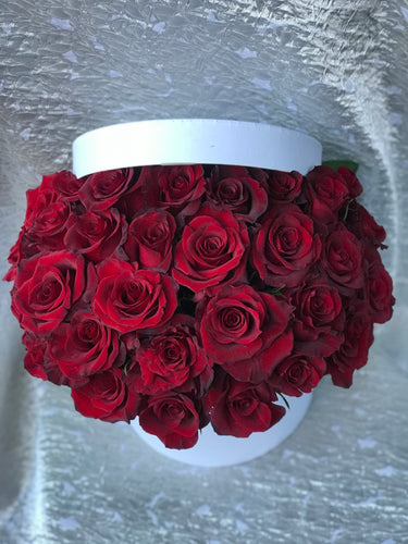 Half Lid Box Of Roses