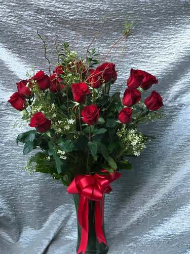 2 Dozen Long Stem Roses