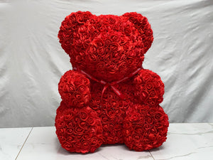 Large Rose Bear