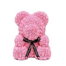 Small Pink Rose Bear