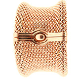 "14K Rose Gold Soft Mesh 1 ½"" Bangle"