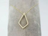 14k Yellow Gold 0.33ctw. Diamond Pendant