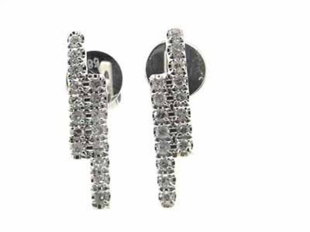 18kw Diamond 0.17 Earring