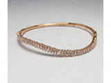 18kw Diamond 1.80 Bangle
