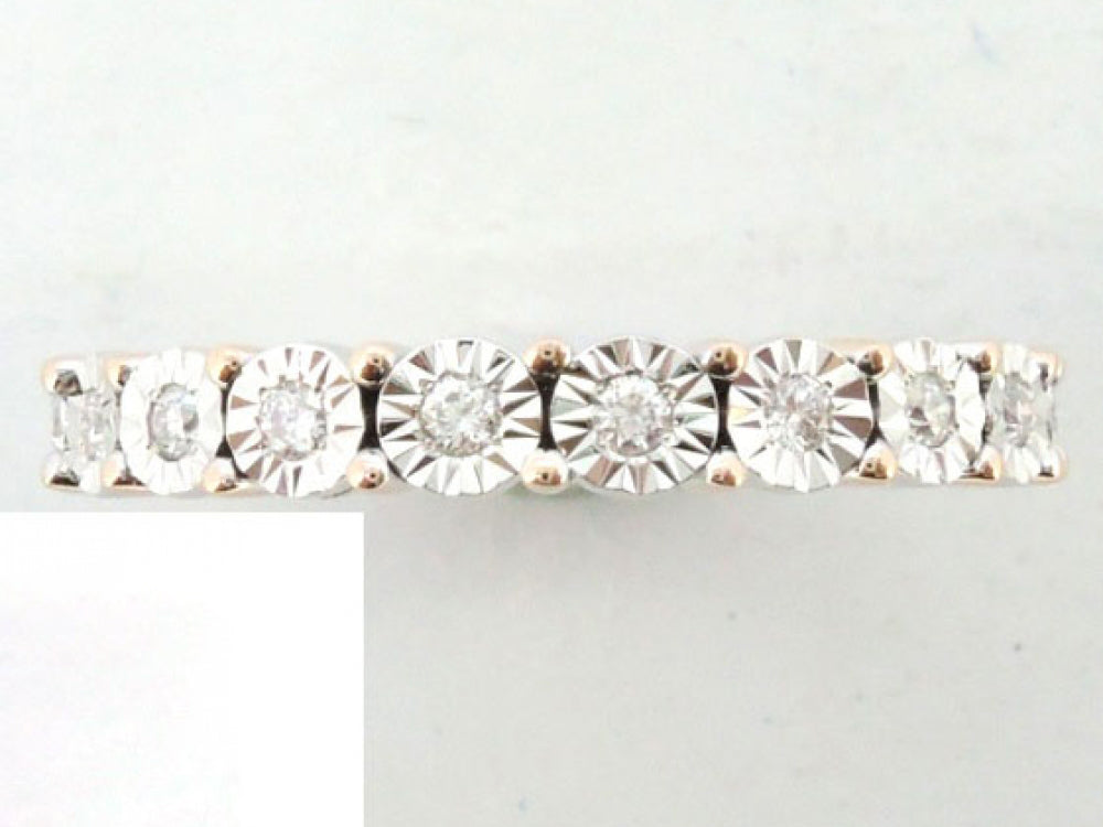 18krw Diamond 0.24 Ring Band