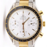 Pre-Owned Omega Two Tone Chronograph Speedmaster Men's Watch
