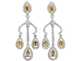 18kw Diamond 1.03 Fashion Diamond 0.85 Earring