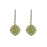 18kwy Diamond 1.62 Small YD 0.57 YD 1.00 Earring