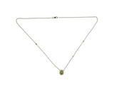 18kyw Diamond 0.54 Yellow Diamond 0.63 (Not Shown) Necklace