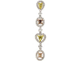 18kw Diamond 0.48 Yellow Diamond Color 0.54 Pendant