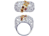 18kw Diamond 1.79 Fashion Diamond 0.96 Ring