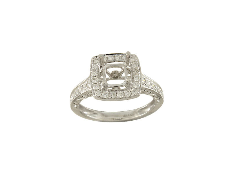 18kw Diamond 0.60 Yellow Diamond 1.00 (Not Shown) Ring