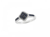 10k White 0.10ctw. Diamond Ring