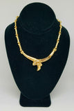 14K Yellow Gold Gleaming Bond Necklace