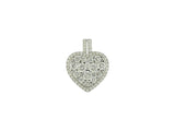 18k White Gold 1.73ctw. Diamond Pendant