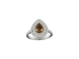 18k White Gold 0.70ctw. Diamond Ring