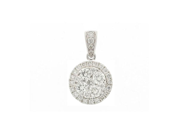 18k White Gold 0.36ctw. Diamond Pendant