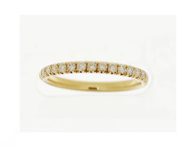 18k Yellow Gold 0.69ctw. Diamond Ring