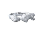 Sterling Silver 0.26ctw. Diamond Ring