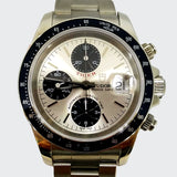 Tudor Rolex Chronograph Stainless Steel Man's Watch