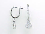 18kw Diamond 1.11 Earring